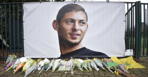 Emotional manager: Sala feared the next step