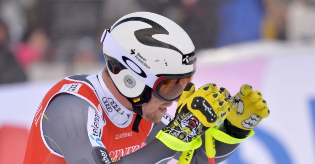 English failure in the super-G: - This is a downer for us