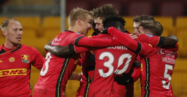 FCN prevailed with the help of big dommerfejl