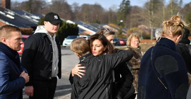 Family and friends said goodbye