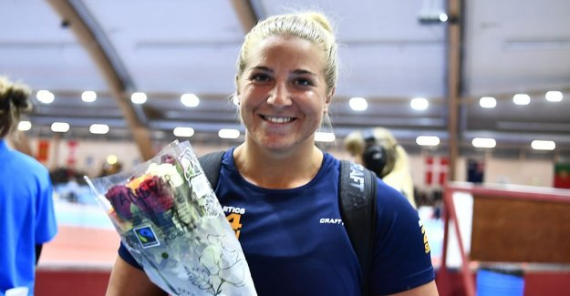 Fanny Roos success – they set the Swedish record