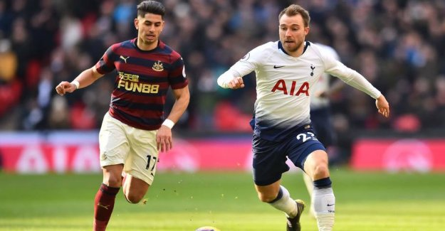 Farce continues with eriksen's new home