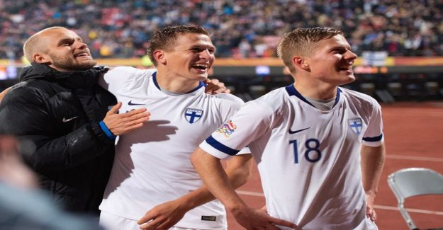 Finland fell one place in the Fifa rankings - Qatar hit china town before