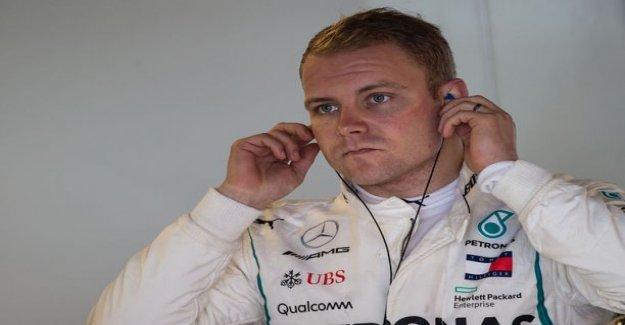 Finn left the company Mercedes F1 team sponsor - Valtteri Bottas once again of a domestic enterprise patch