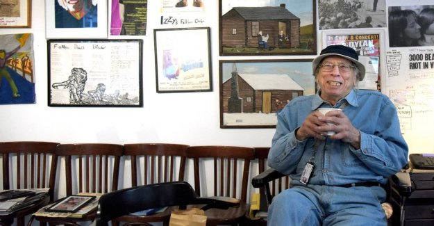 Folkmusikkännaren Izzy Young is dead