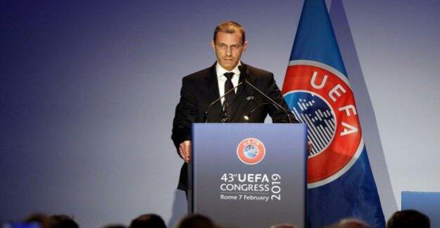 Football : Aleksander Ceferin as Uefa President re-elected