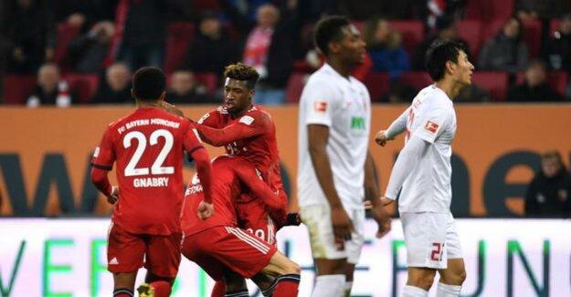 Football-Bundesliga : Coman FC Bayern to victory in Augsburg