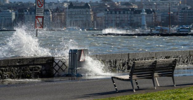 Forecasters warn of gusts of wind in the flat country