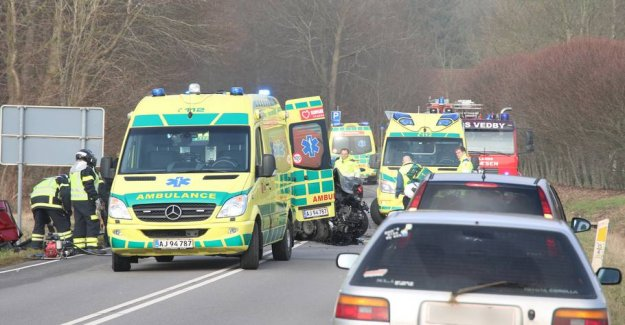 Four persons in the accident: Man killed