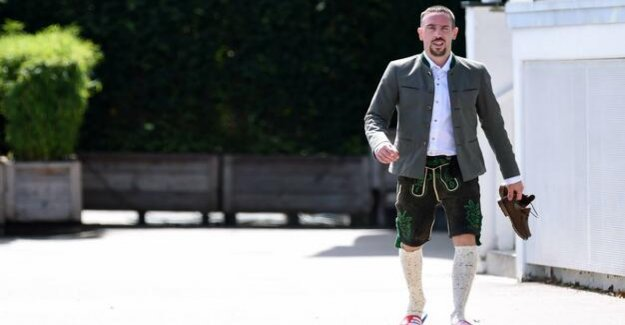 Franck Ribéry : The Mission Of Knuckle Of Veal Florida