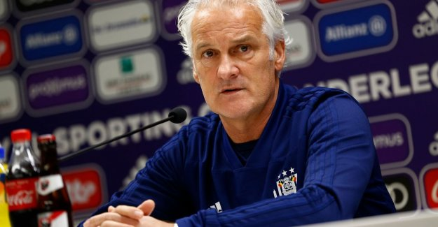 Fred Rutten about the state of preparedness in Anderlecht: Yes, there is a problem. Not all players are football-fit