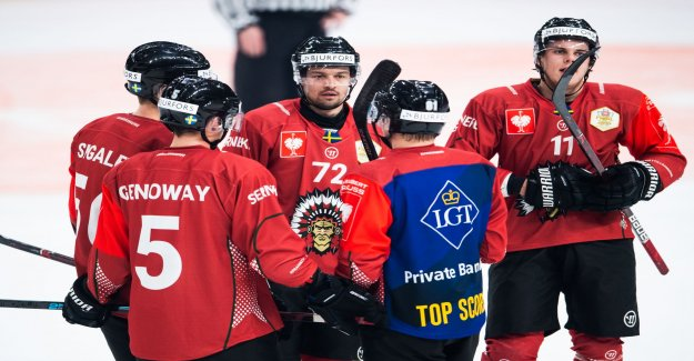 Frölunda run over Red Bull Munich