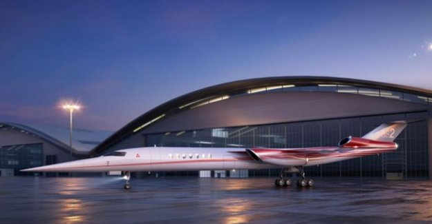 From London to New York in less than 2.5 hours: Boeing wants supersonic has flown his company jet in 2023, the air in