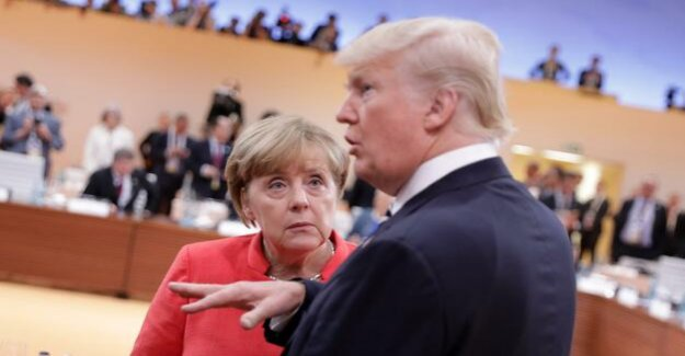 Germany and the USA : Merkel's defiant self-assertion