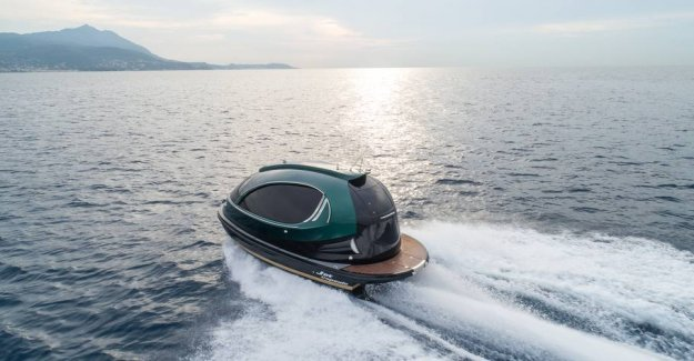 Get this futurist luksusbåd to 1.6 million