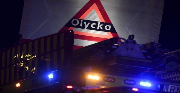 Girl fatally injured in mopedkrock