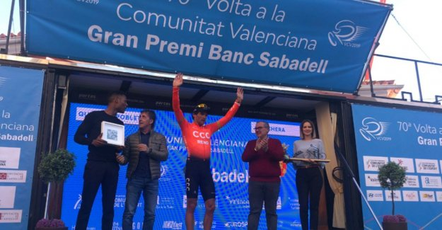 Greg Van Avermaet will post his first win for CCC in Round of Valencia