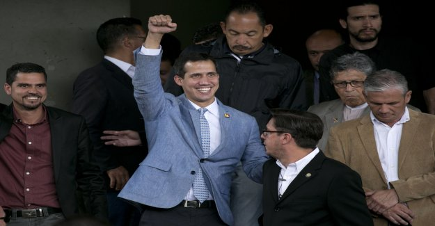 Guaidó refuses to rule out U.S. action