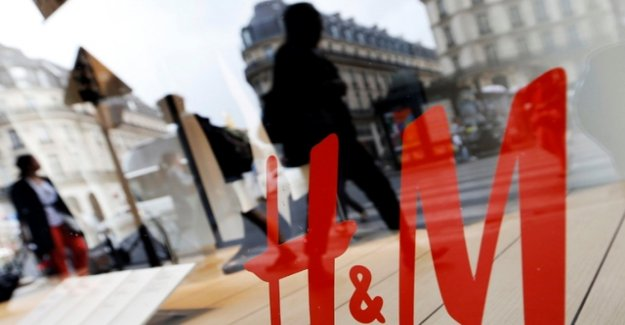 H&M has slept through the step to the Internet