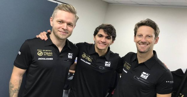 Haas offers sneak peek: Kevin's new clothes