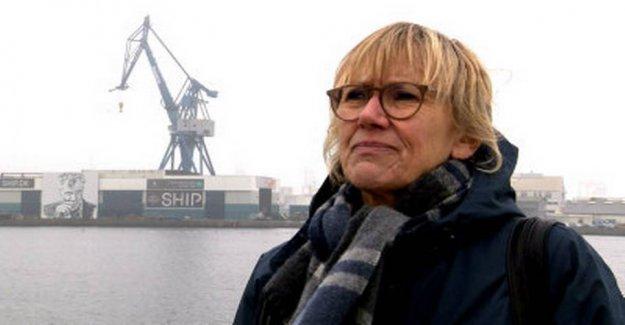 Hanne escaped drowning: - don't steal redningskransene