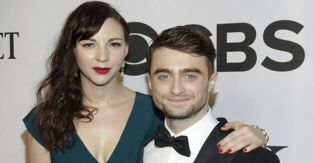 Harry Potter: I met my girlfriend during a sexscene in a movie