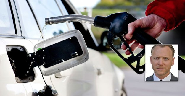 Height of the gasoline tax is a lashes the countryside