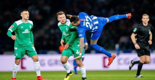 Hertha BSC in the Bundesliga-season 2018/2019 : Hertha leads to the break against Bremen