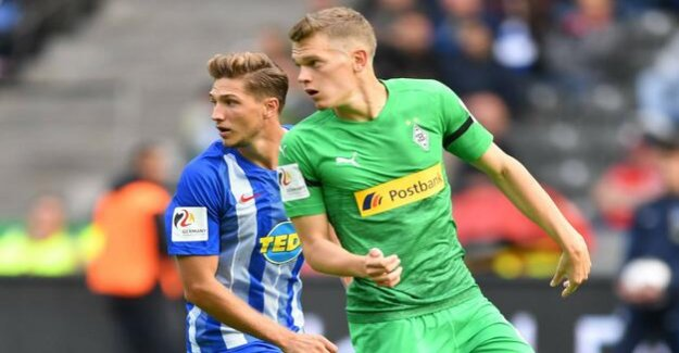Hertha BSC in the Bundesliga-season 2018/2019 : With this setup, the Dardai against Gladbach tried it