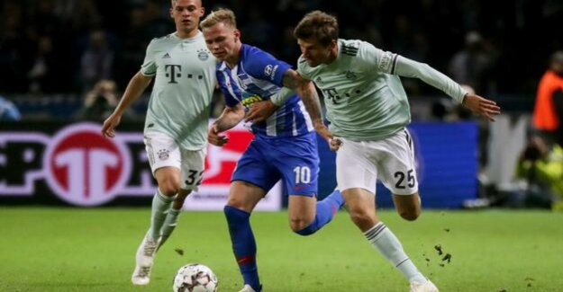 Hertha BSC in the DFB Cup : which System Pal Dardai FC Bayern beat want to