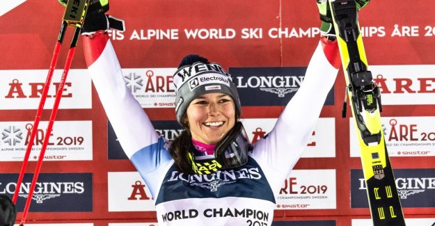 Holdener defended his world CHAMPIONSHIP gold: Excited
