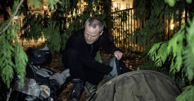 Homeless Anton: the Police, the roma law backfires