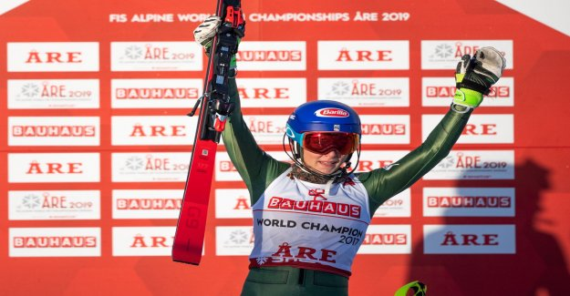 Ill Shiffrin took home the fourth straight gold
