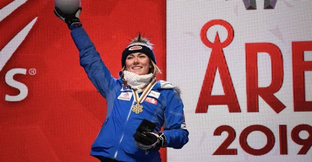 Incredible Mikaela: Won olympic gold with pneumonia
