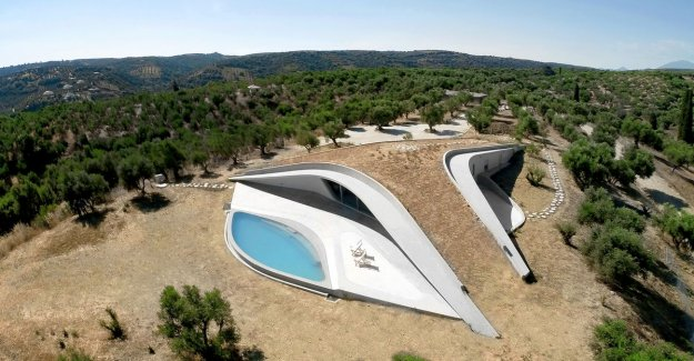 Insanely live: this villa appears to be, among a mountain top to stand