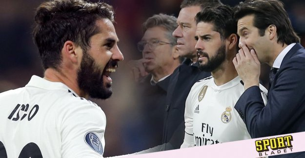 Isco: I don't get the same chances
