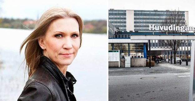 Jenny Alversjö to the emergency room – immediately after the Show