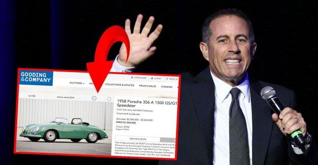 Jerry Seinfeld sued - sold fake Porsche