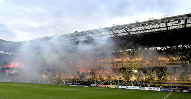 Jumped in the pieces: Now Brøndby have new tribune
