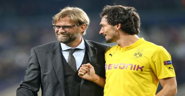 Jürgen Klopp faced the former protégé of the Champions league - did you see the Pool clear traces of wing crime Bayernista?