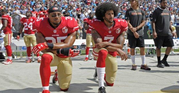 Kaepernick makes peace with the NFL