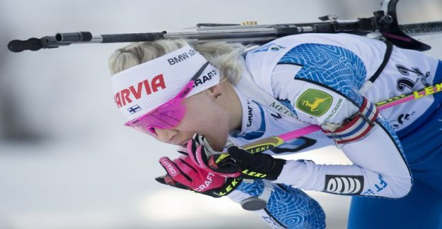 Kaisa Mäkäräinen slowed down dramatically on the track – skiing time was exceptionally bad