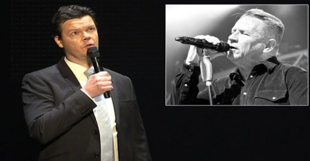 Karri Stone had a touching speech Olli lindholm in memory of a popular song-at the gala: Rest in peace, restless friend