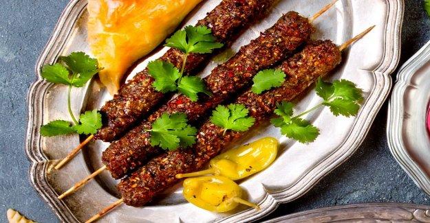 Kebabspett – delicious spicy skewers
