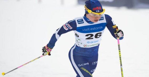 Kerttu Niskanen made a skiing sensation! Skied to victory in the world cup