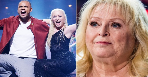 Kikki Danielsson disappointed in the Eurovision song contest: Lack of melodies