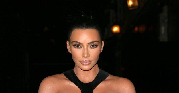Kim Ks dress smashing the internet: - I have been looking forward