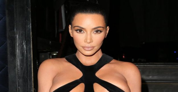 Kim kardashian's outfit gathered quite all the attention - a bare awareness of the testing instagram's rules