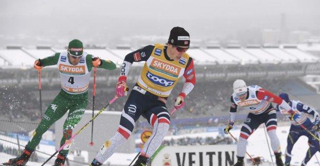 Klæbo ravaged in the sprint