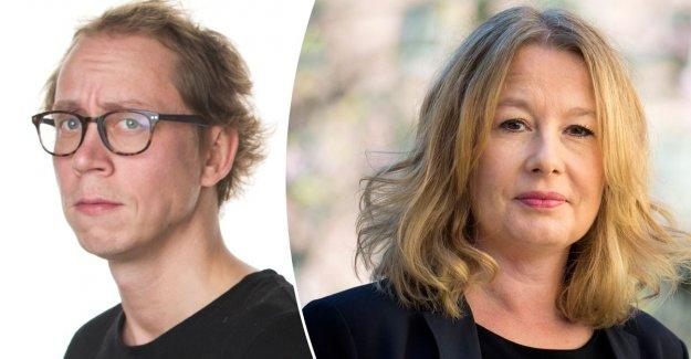 Kringlan Svensson on mordhoten against Åsa Linderborg: Was tired of the whole shit